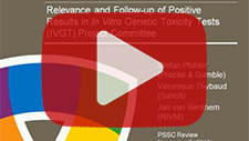 November 2, 2012: Relevance and Follow-up of Positivite Results in In Vitro Genetic Toxicity Tests (IVGT) Project Committee