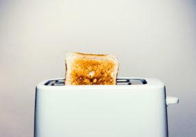 dark brown toast
