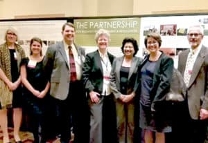 ILSI Research Foundation staff and Board members at the 2015 Annual Meeting poster session.