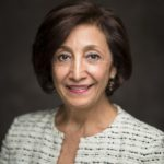 08/25/2016 - Boston, Mass. - Simin Meydani, Vice Provost for Research at Tufts University, poses for a photograph on August 25, 2016. (Alonso Nichols/Tufts University)